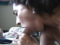 Charming older Brazilian mama sex lia