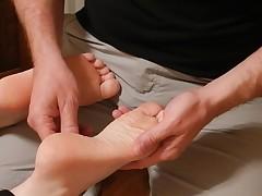 Reflexology massage turns arousal