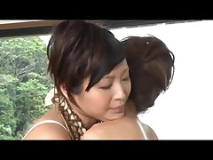 Outdoor spa massage two
