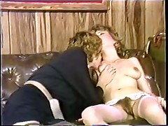 Lovely retro sluts getting their hairy pussies ravaged