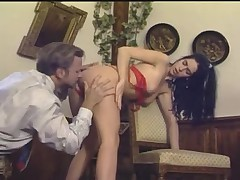 Italian vintage porn film shows some hot scenes