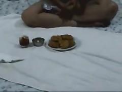 Non-Professional Indian Pair Honeymoon
