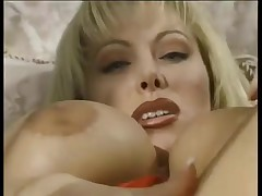 Lovette Uses Gold Marital-Device To Cum