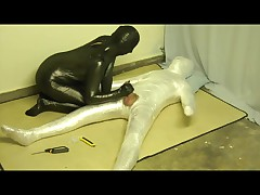 plastic wrap servitude and drilled