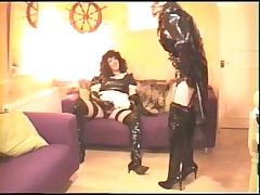 Alison Thighbootboy and Ella - Haunch Boot Fetish Tgirls