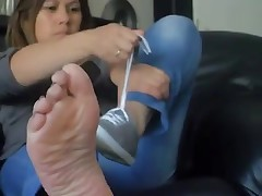 Wife's Perspired feet