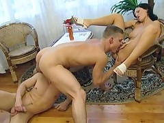 Bi-Sexual Bareback 3Some