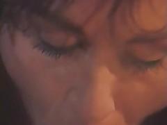 Wild brunette retro lady enjoys a hardcore fuck
