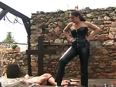 slaves have to worship the Goddess
