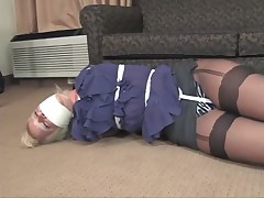 hawt woman gagged