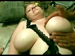 Thick Large Tit Pale Shaggy Redhead Michelle Receives Dicked