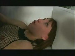 fishnet playgirl receive fucked right into an asshole