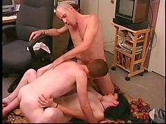 Male+Male+Female Bisex 3Some 57
