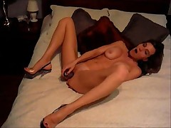 Hot MILF Jade Masturbates for Her Hubby