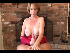Mommy tends to cock in POV