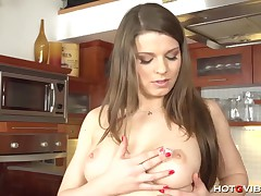 Euro Mother I'd Like To Fuck in The Kitchen