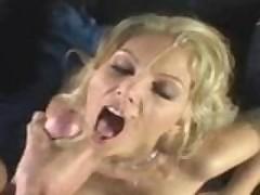 Awesome facial cum-pilation video
