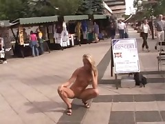 Sophie Moon bare in Public