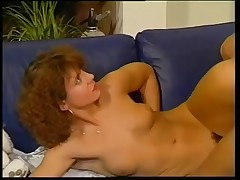 Vintage porn movie ends with hot steamy facial cumshot