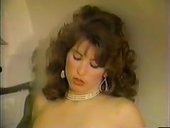 Two hot blonde sluts in a retro lesbian porn movie