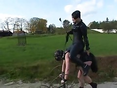 outdoor pleasure for the mistresse