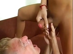 LIQUID LUNCH' LADYBOY CUMSHOTZ 7