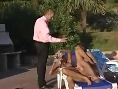 Brigitte on Poolside