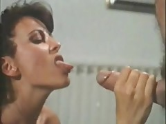 Cumshot compilation from different vintage porn movies