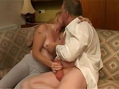 British Aged Lady Acquires Drilled Coarse