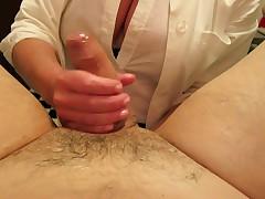 Nurse handling, fisting, cum, massive load, nursing