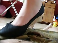 Shoejob with High Heels