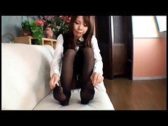 Japanese Footjob - Part three