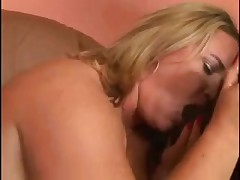 BBW riding on black cock with her fat luscious ass