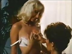 Skinny retro sluts enjoy hardcore lesbian sex