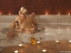 Erotic and moist love making