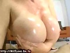 My Oily Titty Wife Cock Loving