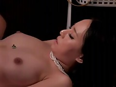 College Gal reluctant agonorgasmos by Masseur