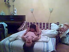 Afternoon fucking of amateur couple