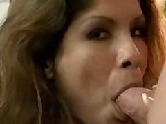 Alexis Amore empties a sac