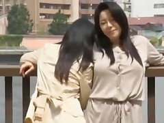 Kinky Japanese babes in lesbian action