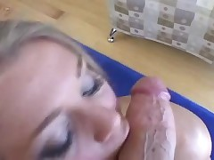 Rita Faltoyano gives oral sex and tit fuck POV style - DG37