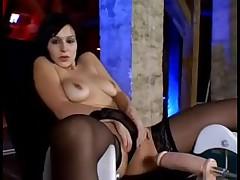 Sluts fuck different sex toys