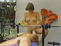 Classic porno with hardcore lesbian cunt licking fun