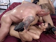 Mature and young girls and boys having sex
