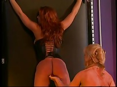 Nina Hartley and a large milk sacks redhead into servitude and S&M