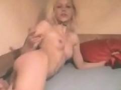 Drunk German slut loves to party!