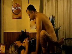 Blonde MILF bonked in her pretty pussy in French hotel