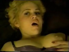 Sexy horny blonde MILF gets her pussy eaten then fucked