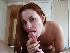 Redhead fellatio YPP