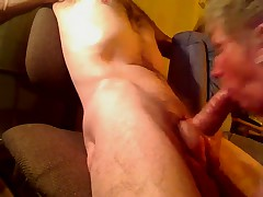 Granny Shirley Gives BJ to Juvenile Ding-Dong